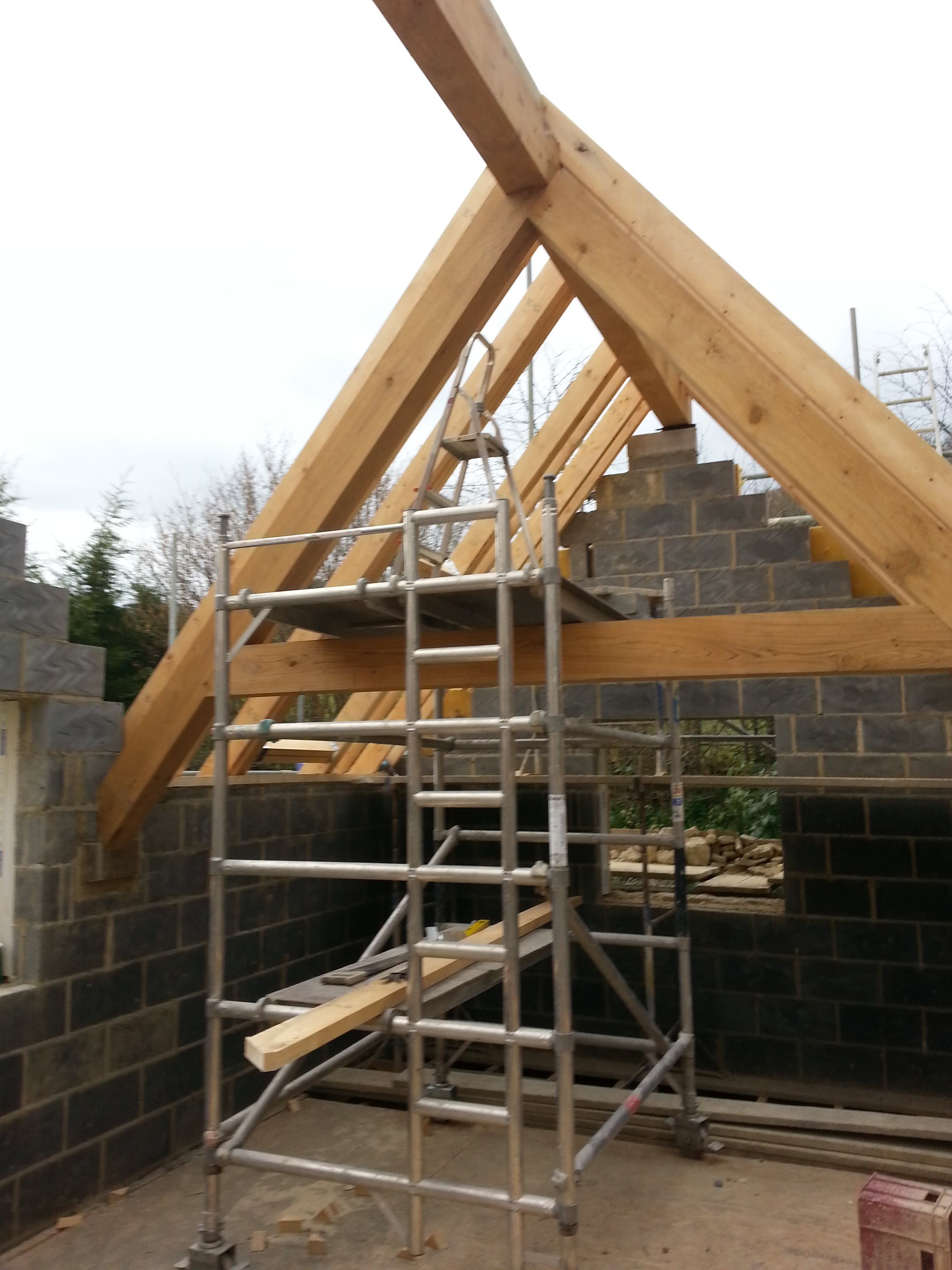 New Build New Roof Slad Stroud Stroud Builders